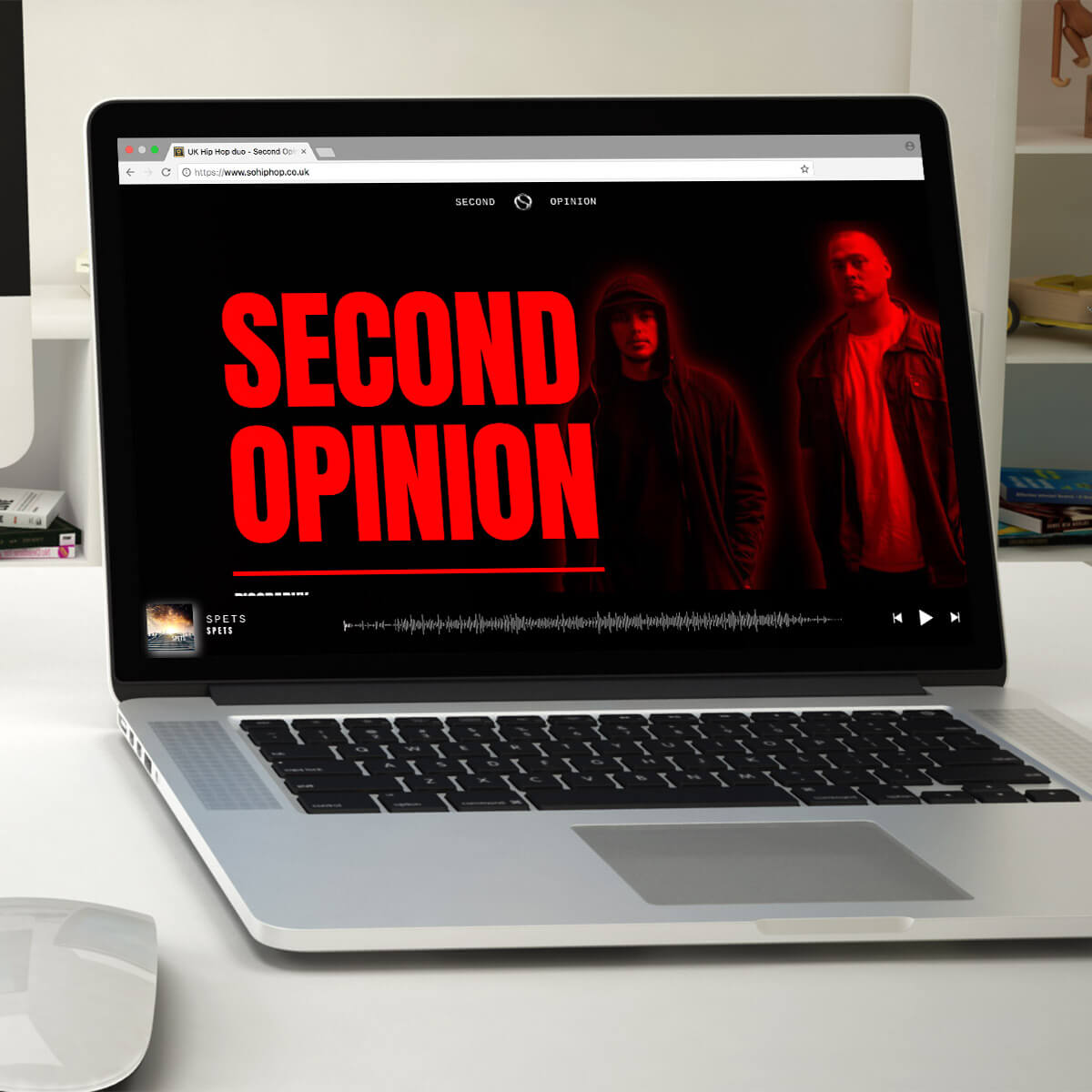 Second Opinion hip hop website