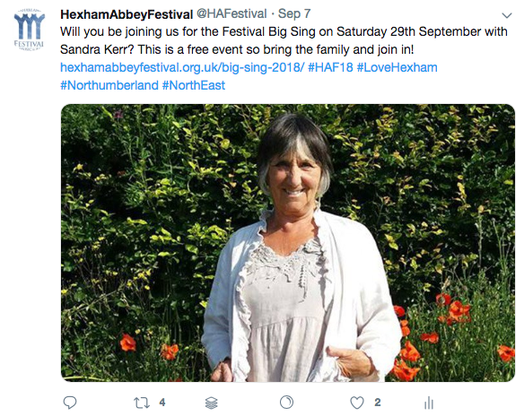 Hexham Abbey Festival SMM